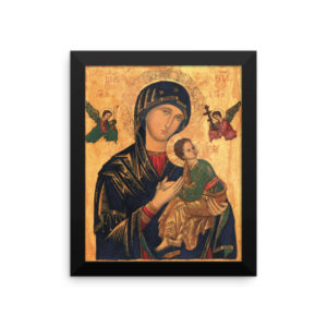 Our Mother of Perpetual Help Framed Icon Poster