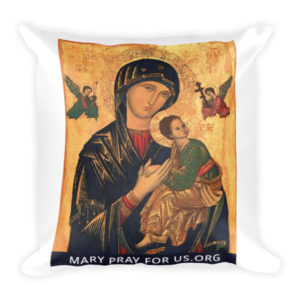 Our Mother of Perpetual Help Pillow